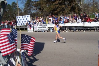 2004 US Olympic Trials Marathon Finish