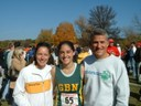 2005 Kristina Finishes Cross Country Sectional Meet