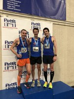 JSR Sweeps Podium at Pettit Indoor Half Marathon!